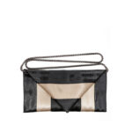 Clutch Black Gold with chain - Pekelharing